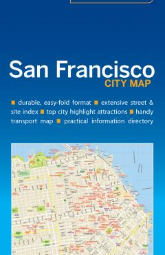 San Francisco City Map - 55250