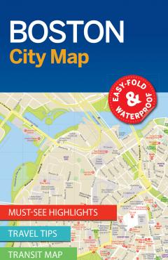 Boston City Map - 55283
