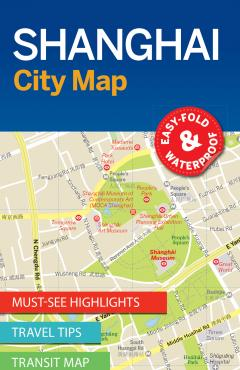 Shanghai City Map - 55288