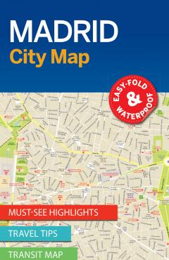 Madrid City Map - 55290