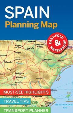 Spain Planning Map - 55431