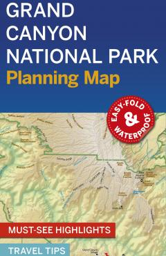 Grand Canyon NP Planning Map - 55475