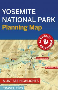 Yosemite NP Planning Map - 55486