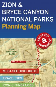 Zion & Bryce Canyon NP Planning Map - 55488