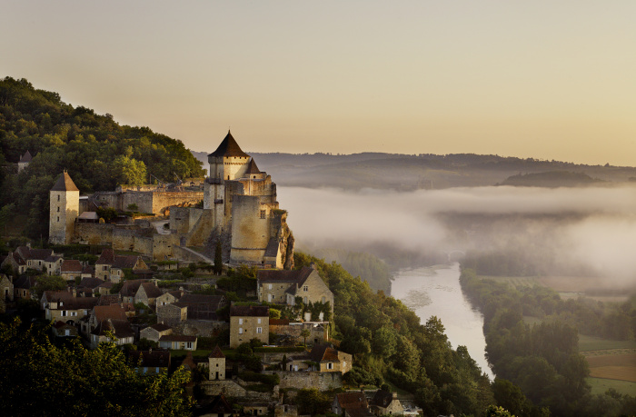 Château de Castelnaud – built between the 13th and 17th centuries – looms over the Dordogne Valley©Andrew Montgomer//Lonely Planet