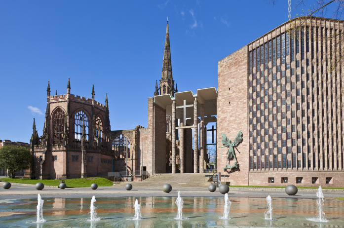 Coventry's old and new cathedrals -© Neale Clark - Robert Harding - Getty Images
