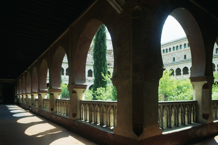 The cloisters at the Santa María de Guadalupe monastery are just one of the building's highlights © De Agostini - W. Buss - Getty Images