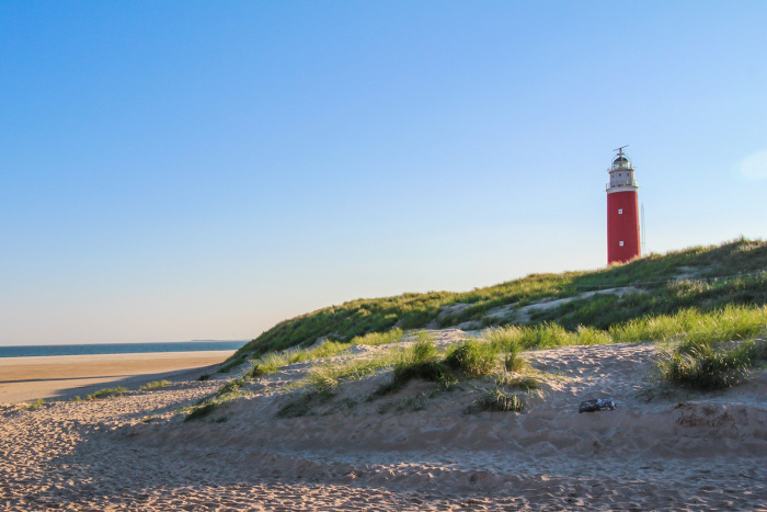 The Eierland Lighthouse on the northernmost tip of Texel © Catherine Le Nevez - Lonely Planet